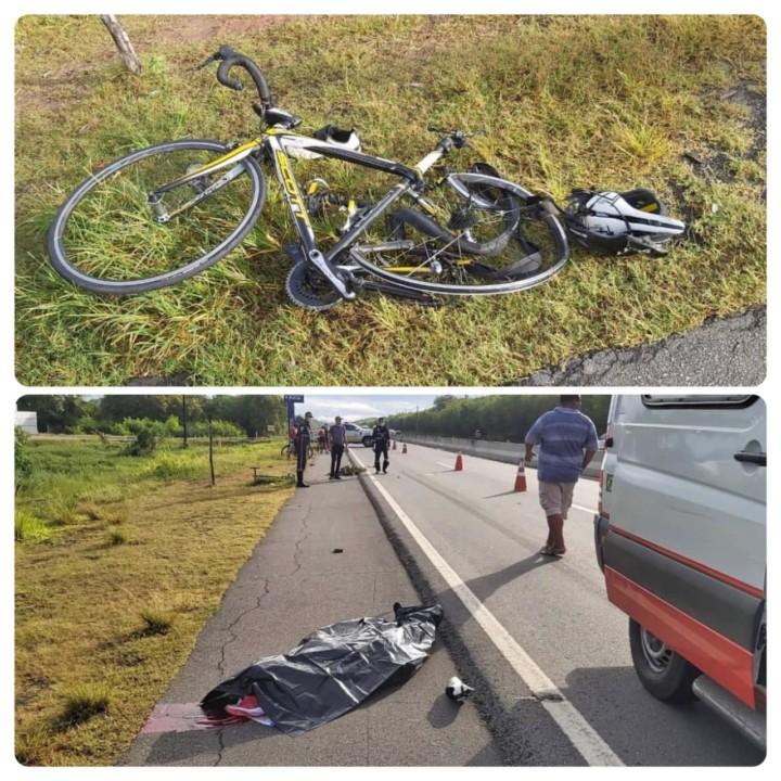 Photo of ATÉ QUANDO? Ciclista é atropelado e morre na AL-101 Sul em Marechal Deodoro