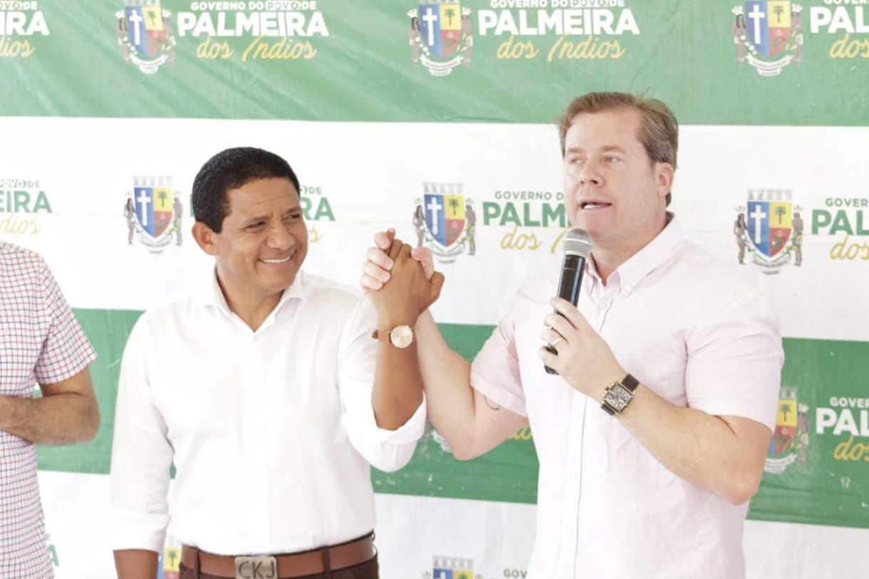 Photo of Júlio Cezar e Marx Beltrão estarão nesta 2ª em Palmeira traçando planos de desenvolvimento