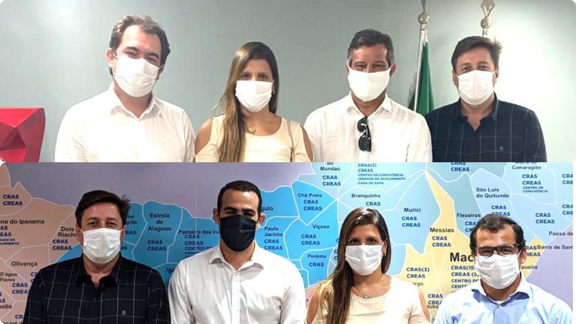 Photo of NOVO LINO EM AÇÃO! Marcela Gomes mantém audiências em secretarias do Estado para levar novas ações a município
