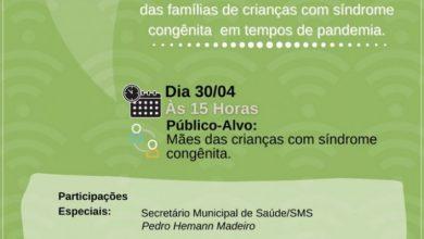 Photo of Saúde promove Encontro Virtual do grupo Ciranda do Cuidado