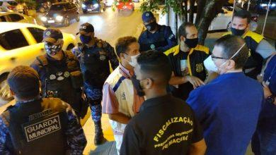 Photo of Blitz da Prefeitura observa cumprimento do decreto de bares e restaurantes