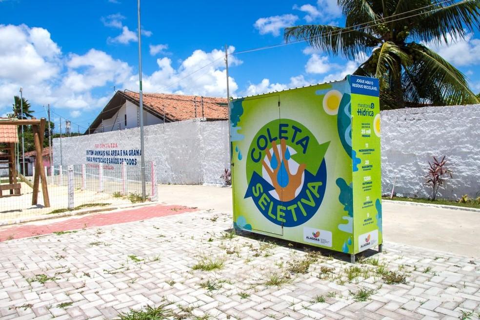 Maceió possui 29 PEVs espalhados pelas principais praças e ruas. Foto: Ascom Sudes