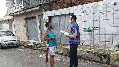 Photo of Ação orienta moradores do Clima Bom sobre riscos da ligação clandestina de rede de esgoto