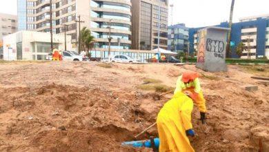 Photo of Infraestrutura realiza desobstrução e limpeza de galerias em pontos de alagamento