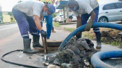 Photo of Santa Amélia recebe serviços de manutenção e construção de galeria pluvial