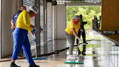 Photo of Mutirão retira 24 toneladas de lixo do Centro Pesqueiro e melhora acessibilidade