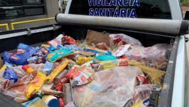 Photo of Vigilância Sanitária apreende 1.200kg de alimentos impróprios para consumo