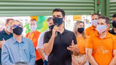Photo of Prefeito JHC participa da inauguração de supermercado e diz que prioridade é gerar emprego