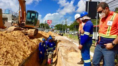 Photo of Prefeitura inicia fiscalização das obras de saneamento na Gruta e Cidade Universitária