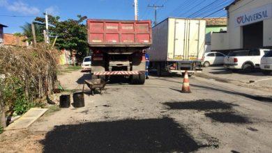 Photo of Prefeitura leva operação tapa-buraco às principais vias da cidade