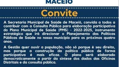 Photo of População pode participar da elaboração de políticas públicas para Saúde de Maceió