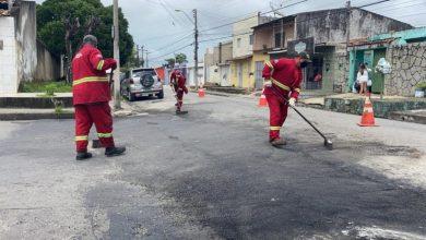 Photo of Infraestrutura leva operação tapa-buraco para vias com grande fluxo de veículos