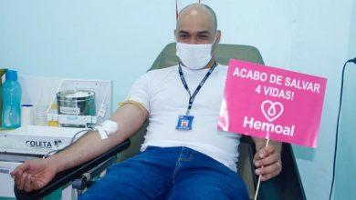 Photo of Servidores públicos da Infraestrutura doam sangue em ação social