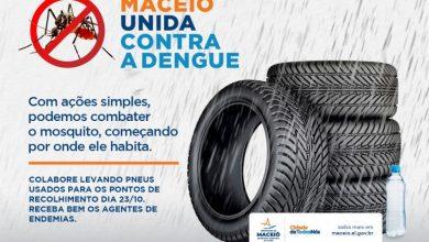 Photo of Mutirão de coleta de pneus intensifica combate à dengue a partir de segunda (18)