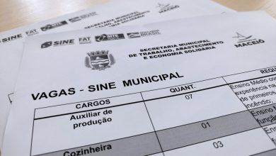 Photo of Oportunidade: Sine Maceió disponibiliza mais de 50 vagas de emprego