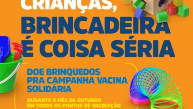 Photo of Doação de brinquedos para a Campanha Vacina Solidária acontece até o fim do mês