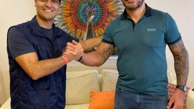 Photo of Prefeito de Maceió, JHC, se reúne com campeão Minotauro sobre projeto pioneiro de incentivo ao esporte