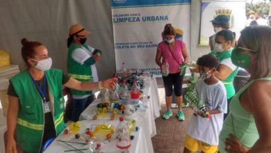 Photo of Ação da Prefeitura na Jatiúca orienta crianças sobre cuidado com a natureza