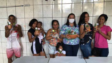 Photo of Casa de Passagem Familiar realiza oficina de jardinagem