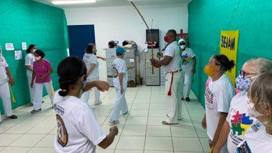Photo of Cras Pitanguinha realiza atividade com grupo de capoeiristas em alusão ao Outubro Rosa