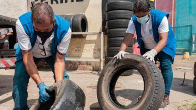 Photo of Saúde conclui mutirão em borracharias e convoca população para dia D da coleta de pneus