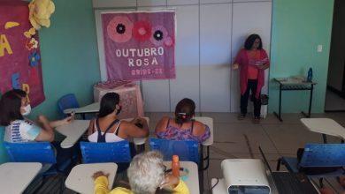 Photo of Grupo de mulheres do Cras Área Lagunar participam de ação do Outubro Rosa
